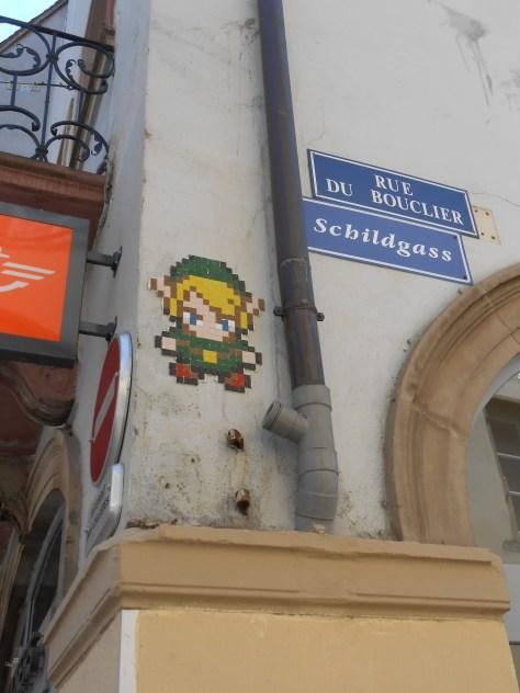 strasbourg - 03.07.14 - mosaique - zelda - streetart (1)