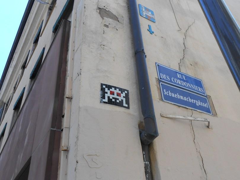 collage - invader - strasbourg - 03.07.14 (2)