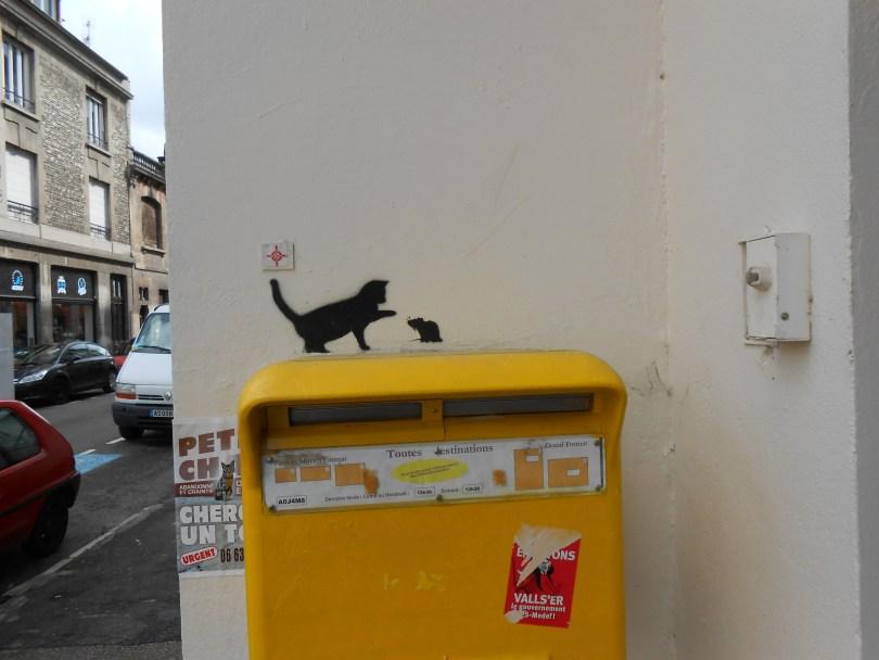 besancon - sept 2014 - stencil - cat, mouse (2)