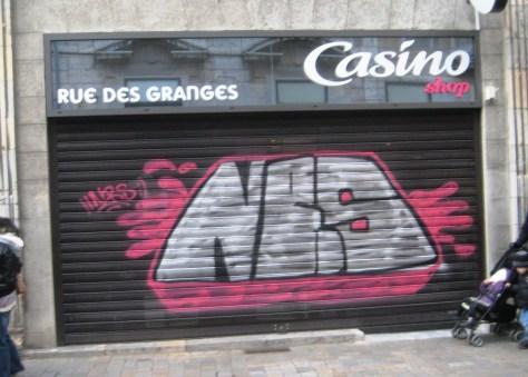 NRS graffiti besancon 2014