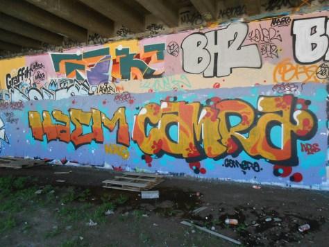 besancon graffiti avril 2015 Haem, Camra (4)