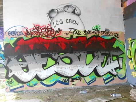JESTE graffiti besancon 05.2015
