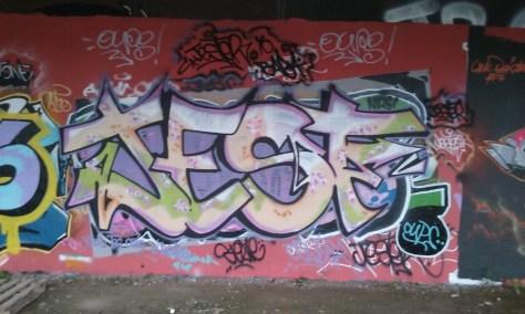 Jester - graffiti besancon 2015