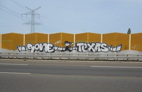 Sone, Texas - graffiti - allemagne sept 2015