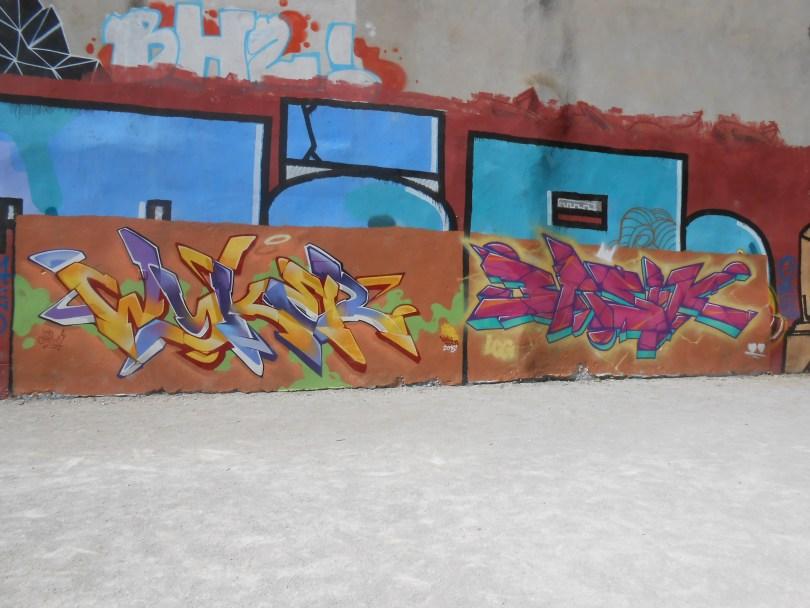 WYKER, BASIK - graffiti - besancon 2016 (1)