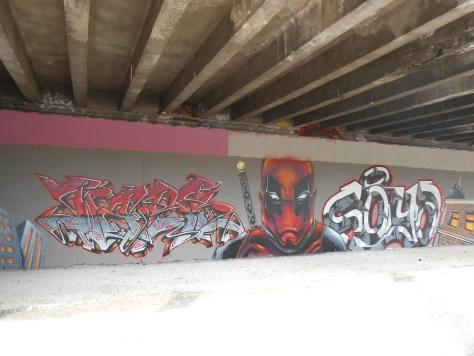 graffiti - besancon - deadpool 2016 (1)