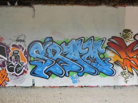 SRAM graffiti besancon 2016