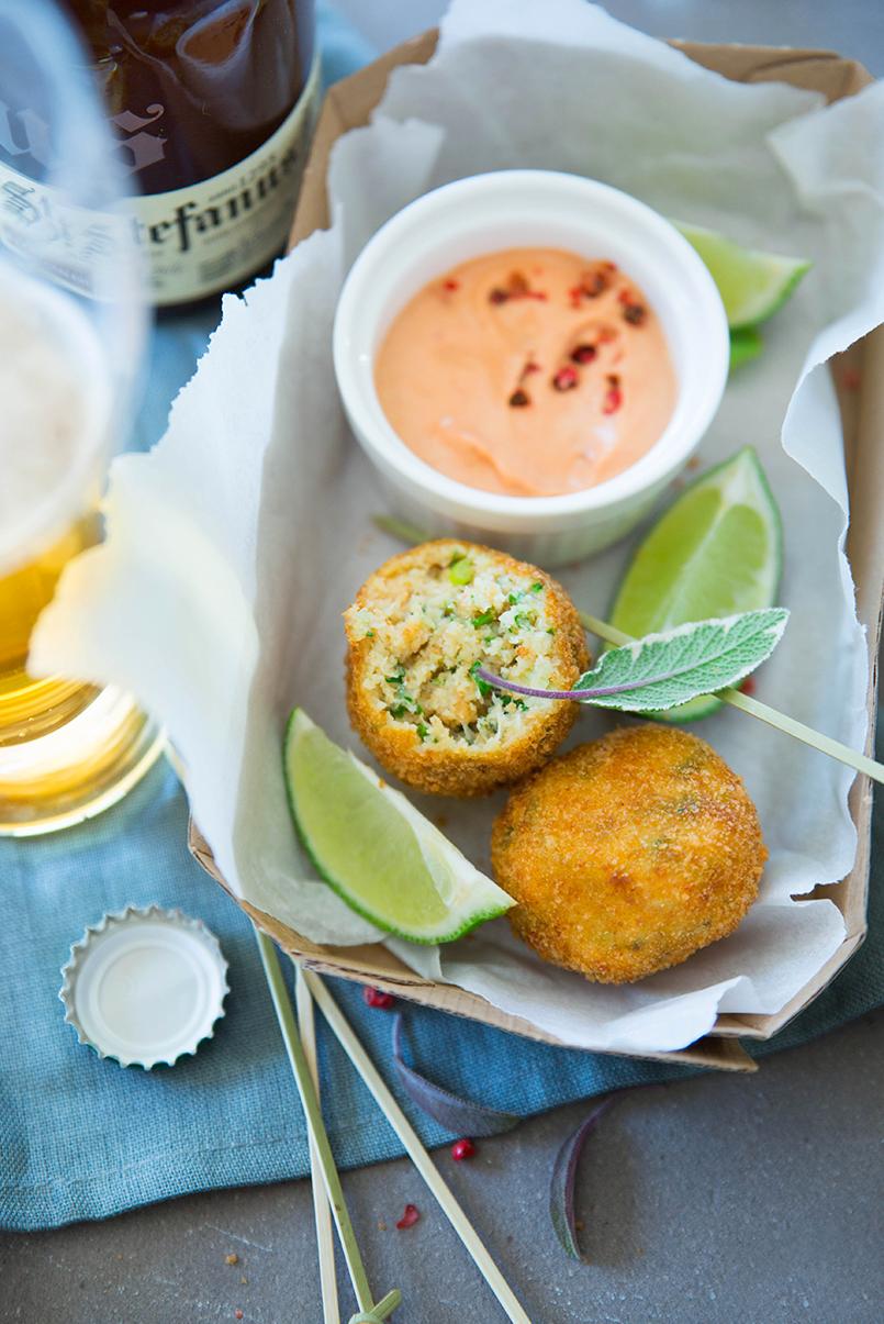 Bouchées au crabe ©Fraise & Basilic