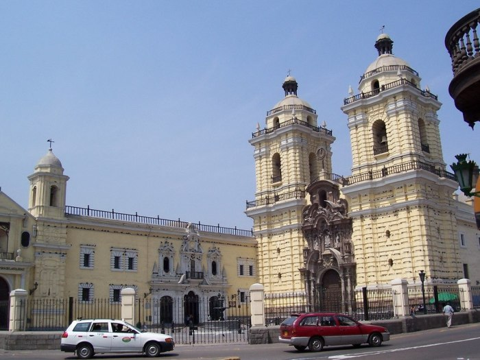 Church of Saint Francis - Lima