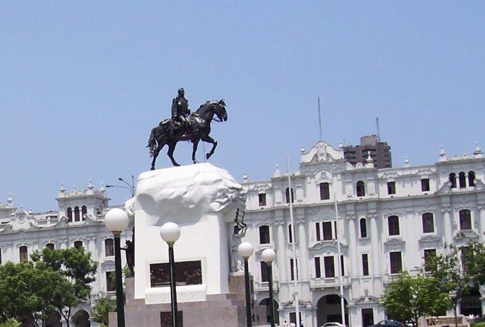 San Martin statue - Lima - Peru