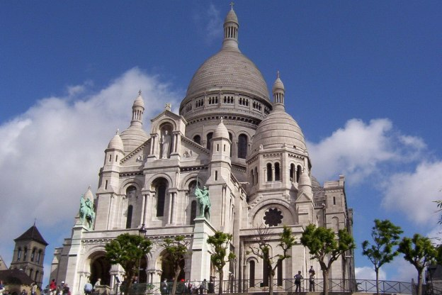 Sacre Coeur - on a blue day - Paris - France