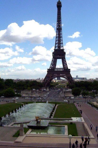 The Eiffel Tower - Jardins du Trocadero - Paris - France