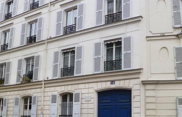 Vince Van Gough's Paris apartment