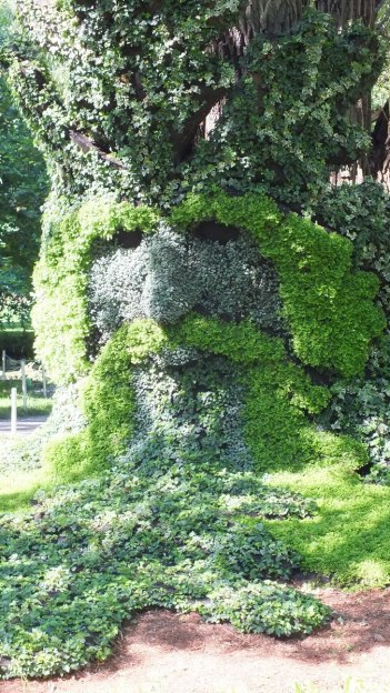 Spirits of the Wood - The Green Man - Mosaiculture - Montreal Botancial Gardens