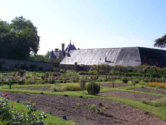 Gardens - Chateau de la Bourdaisiere Castle - France