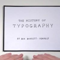 La historia de la tipografía en cinco minutos (vídeo)