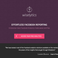 Wiselytics, análisis estadístico gratuito de las páginas de Facebook