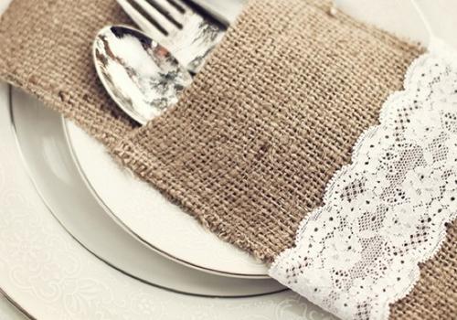 Artículos de mesa para bodas