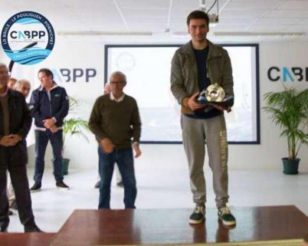 Championnats de France 2016 – 1er jeunes raceboard jauge international 8,5: Maxime Quentel (CN Lorient)