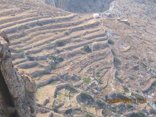 Terracing - Folegandros Island