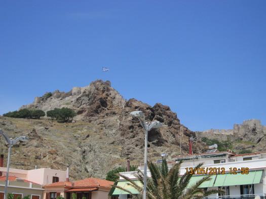 Mirina Castle, Mirina, Greece