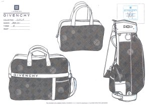 Franck Audrain-Givenchy-Collection-Golf-Givenchy-Sac