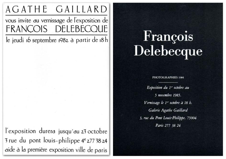 François Delebecque - Galerie Agathe Gaillard