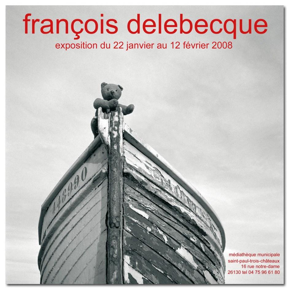 François Delebecque, exposition Saint Paul, 2008