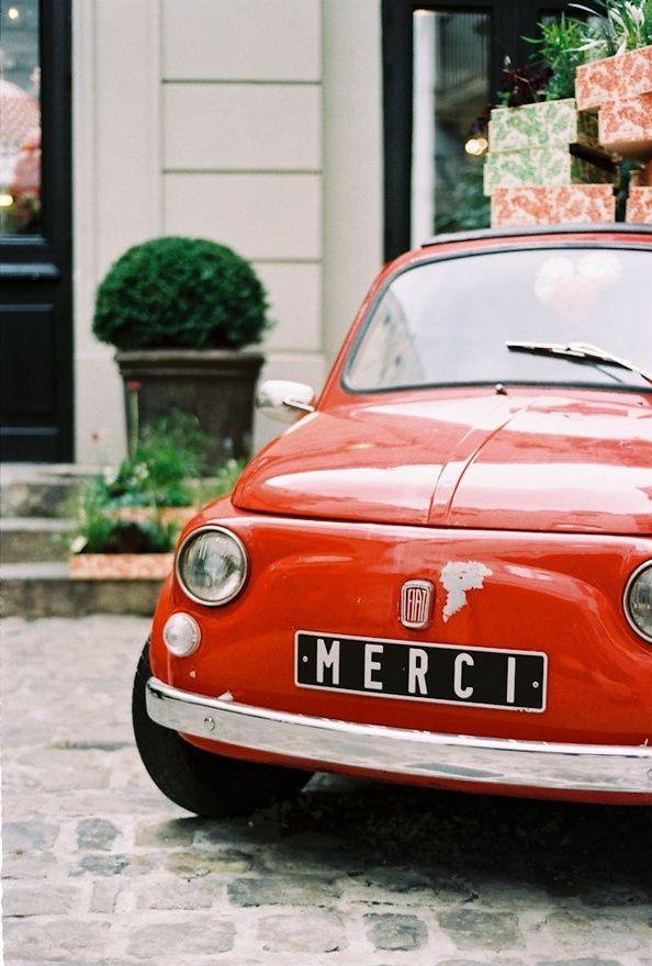 Merci Fiat Paris | Francois et Moi