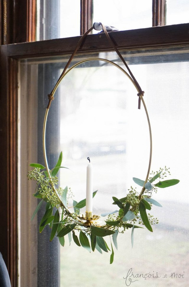 Swedish Candle Wreath | Francois et Moi