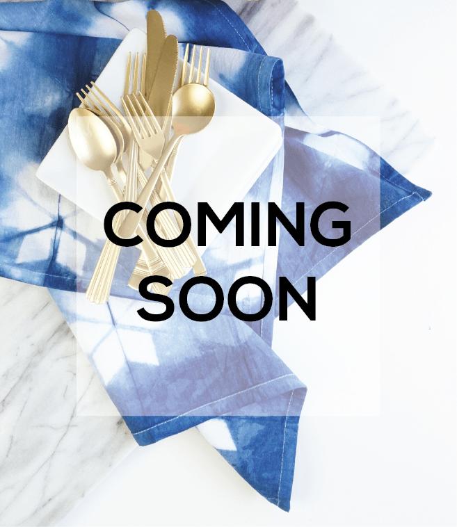 Shop Francois Coming Soon| Francois et Moi