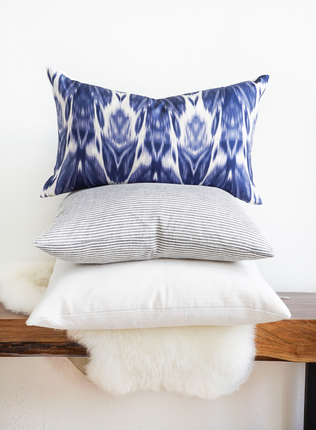 Turn the old dresses you no longer wear into throw pillows for your sofa! Click for the full tutorial.