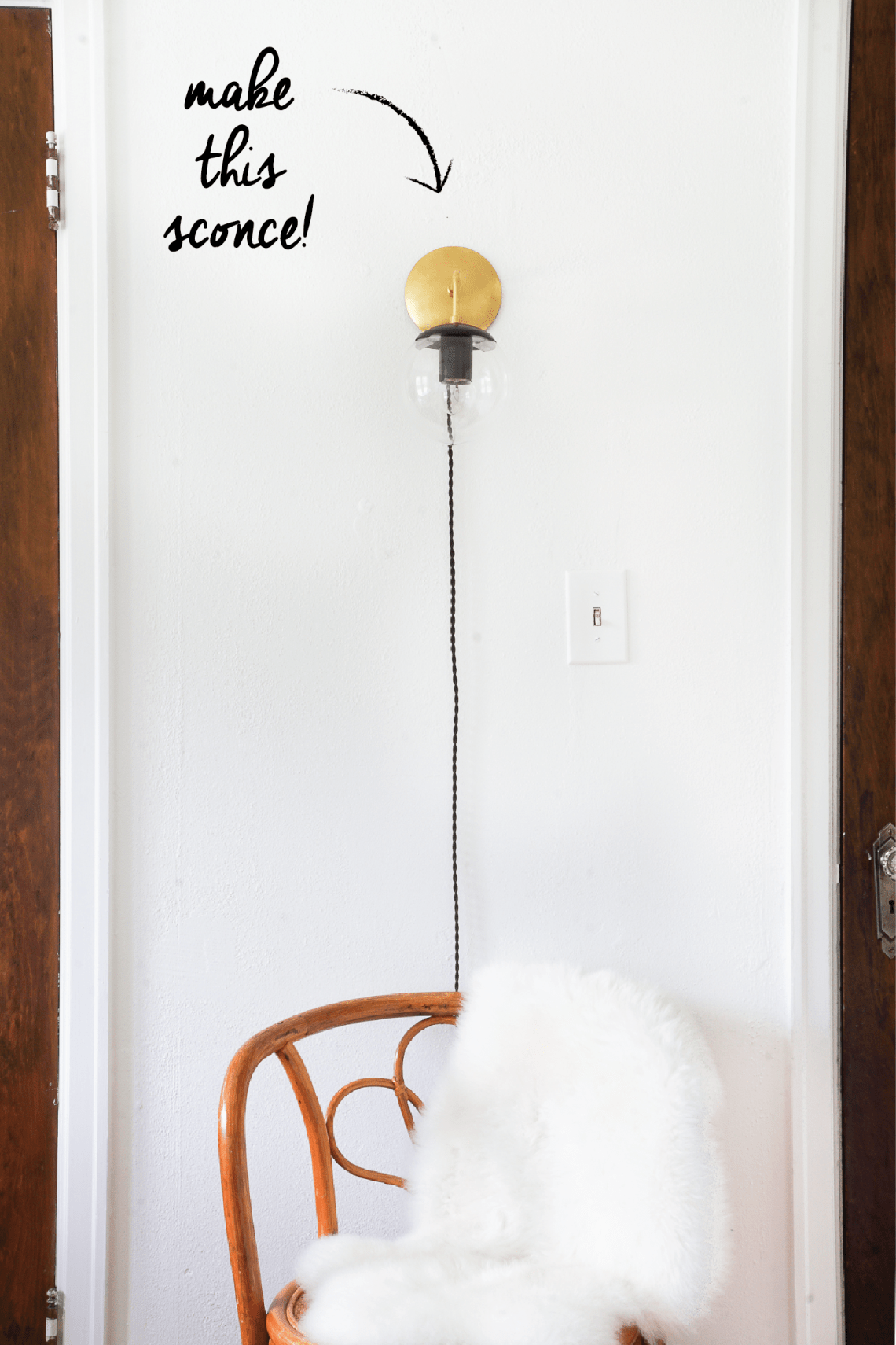 Learn how to build modern sconce lighting with my new Skillshare class!
