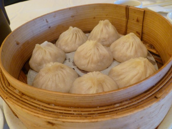 Soup Dumplings at the Shanghai River Restaurant