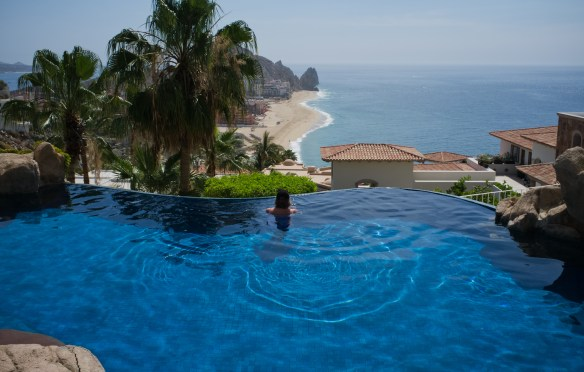Beautiful Casa Miramar in Cabo San Lucas.   Many homes like this are available for vacation rental.