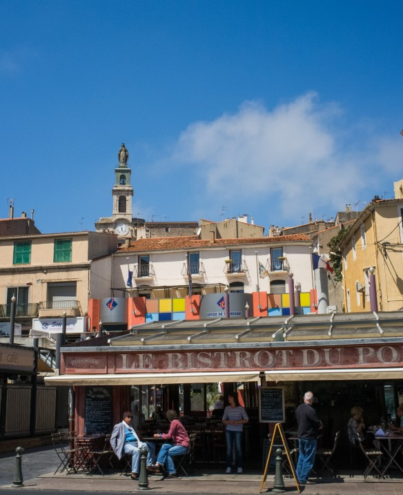 A relaxed pace in Sete, but the town really comes alive during the water jousting tournaments each summer.
