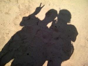 Frank & Lisa hiking