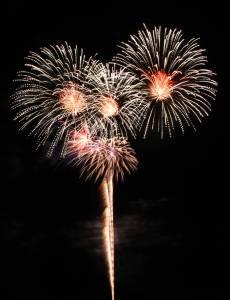 Feuerwerk-Silvester