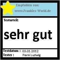Frankies Testwelt - Testsiegel - Hysalma Achselpads