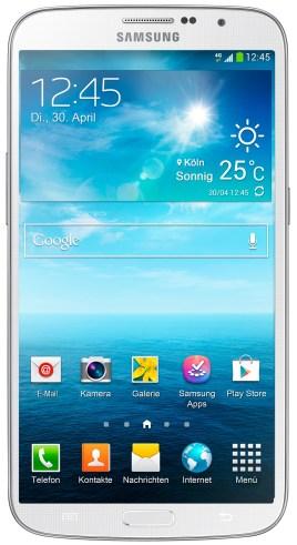 de_GT-I9205 Galaxy Mega White Front