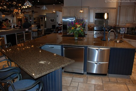 kitchen showroom inside fergusons