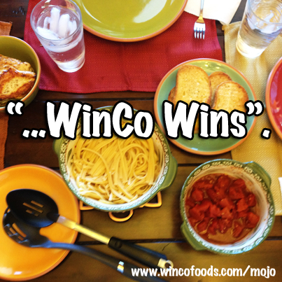 WinCo Wins - Cooking More for Less