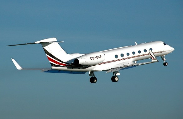 A Private Jet for Your Traveling Writer