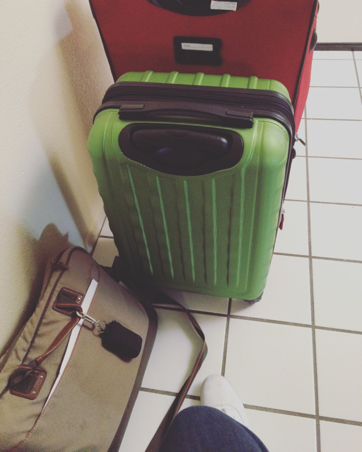 Luggage ready for BRMCWC