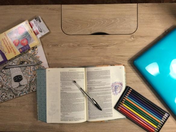 Faith Is . . . My Writing Desk