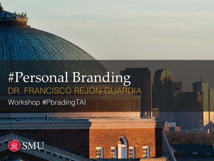 personal branding smu - slide