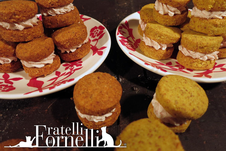Bichromatic salted Baci di Dama cookies Recipe - Fratelli ai Fornelli