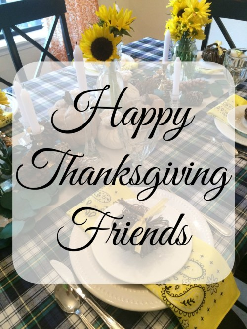 Medium Of Happy Thanksgiving Friends