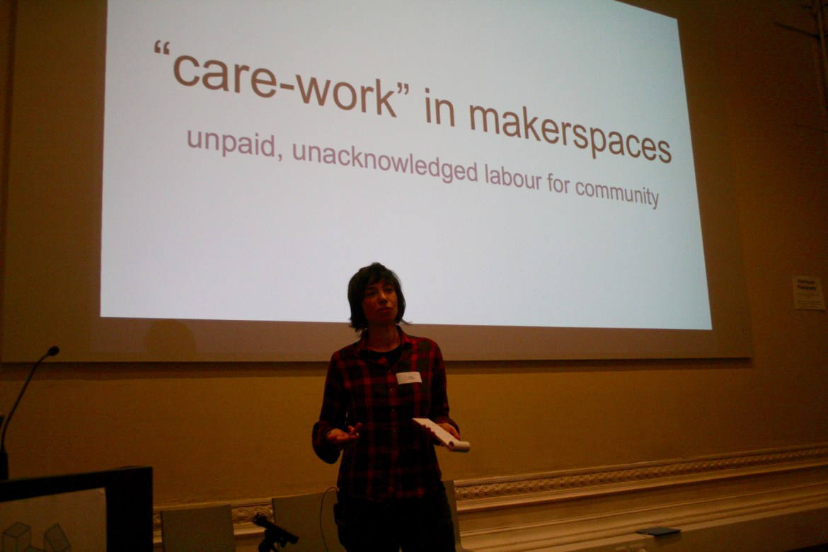 Janet Gunther at Maker Assembly