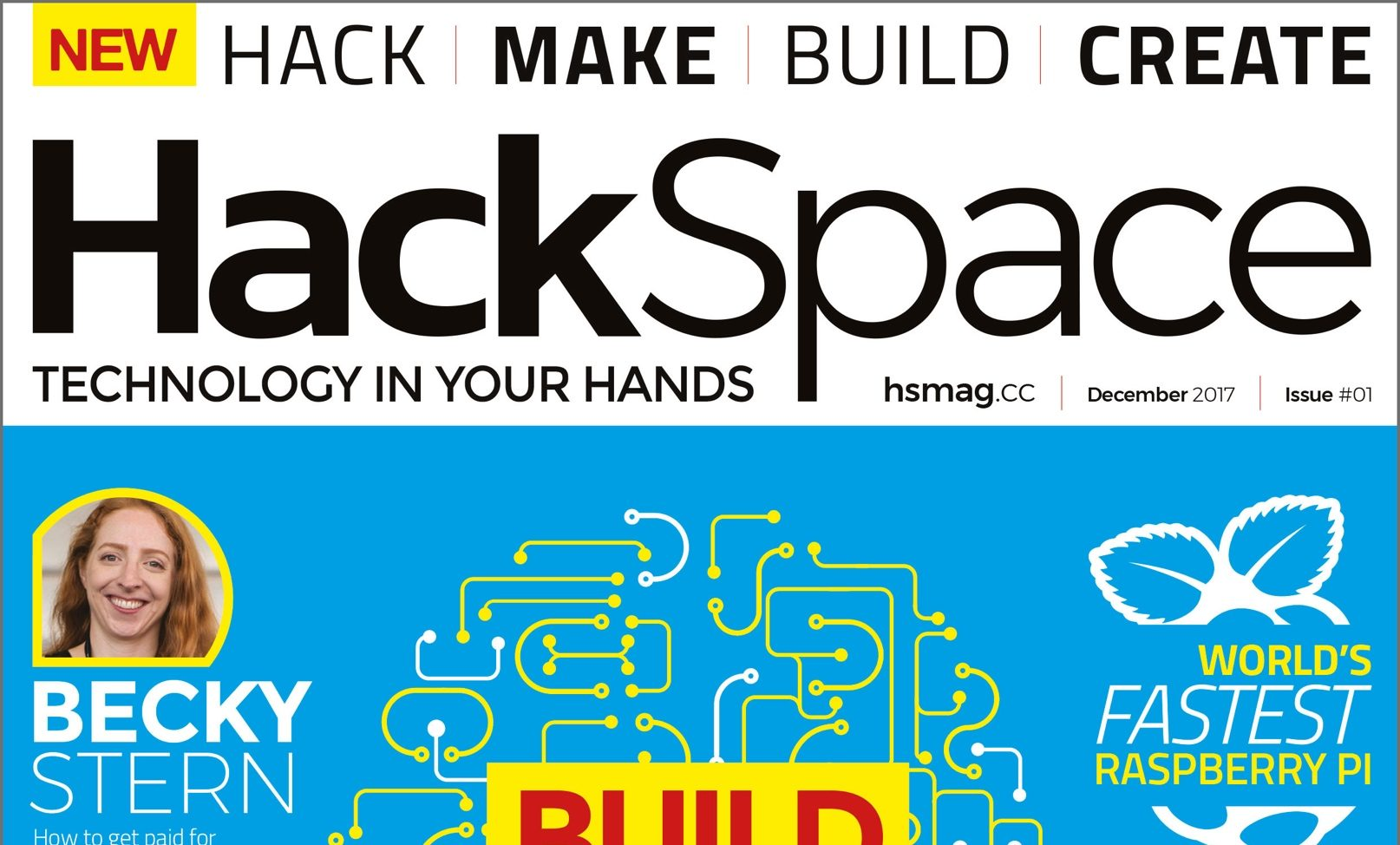 There's a new hackspace magazine out, and it's controversial
